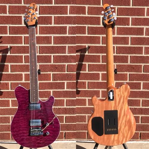 Ernie Ballmusic Man Bfr Axis Super Sport Trans Light Purple 1027 6