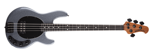 Ernie Ball/Music Man Stingray Special Charcoal Sparkle 4-String Electric Bass Guitar 2019
