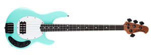Ernie Ball/Music Man Stingray 4H Special Cruz Teal 4-String Electric Bass Guitar