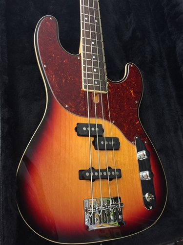 Schecter USA Custom Shop MICHAEL ANTHONY SIGNATURE 3-Tone Sunburst   4-String Electric Bass Guitar