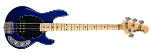 Ernie Ball/Music Man Short Scale 30 Inch StingRay Bass Ultramarine Blue  4-String Electric Bass Guitar 2019