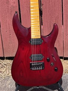 Schecter DIAMOND SERIES PROTOTYPE Hades-6 Vampire Red Pearl 6-String Electric Guitar