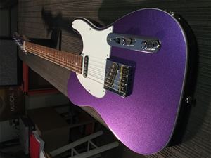G&L USA ASAT Classic  Royal Purple Metallic 6-String Electric Guitar