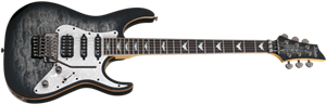 Schecter DIAMOND SERIES Banshee Extreme-6FR Charcoal Burst 6-String Electric Guitar