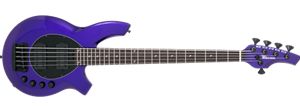 Ernie Ball/Music Man Bongo-5  HH  Firemist Purple 5-String Electric Bass Guitar