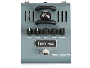 FRIEDMAN Motor City Drive Tube Powered Overdrive Pedal