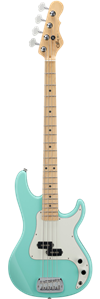 G&L USA  Fullerton Deluxe SB-1 Surf Green/Maple Neck  4-String Electric Bass Guitar 2020