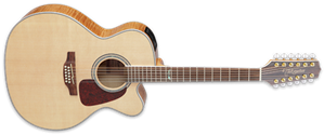 Takamine GJ72CE-12 Natural 12-String Acoustic Electric Guitar