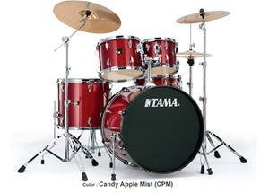 Tama Imperialstar IP50C Candy Apple Mist Ready To Rock 5-Piece Drum Set