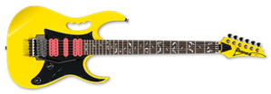 IBANEZ Steve Vai JEMJRSP Yellow 6-String Electric Guitar