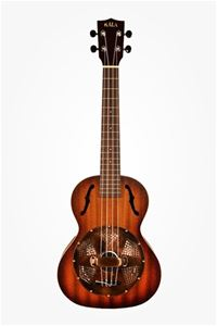 Kala KA-RES-BRS Satin/Brass Tenor Resonator Ukulele
