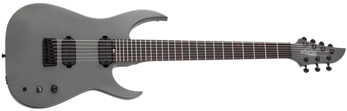 Schecter    DIAMOND SERIES  KM-7 MK-III Standard  Stealth Grey  7-String Electric Guitar 2019
