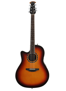 Ovation Timeless Balladeer L771AX-NEB New England Burst  Left Handed 6-String Acoustic Electric Guitar