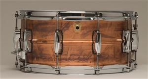 "Ludwig USA LC-661 Copper Phonic  5x14"" Snare Drum"