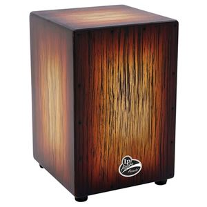 Latin Percussion Aspire Accents Cajon - Sunburst Streak