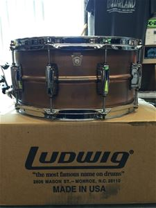 "Ludwig USA LC-663 Copper Phonic 6.5 x14"" Snare Drum"