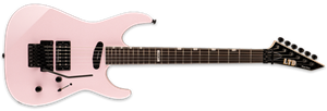 LTD DELUXE Mirage Deluxe '87 Pearl Pink 6-String Electric Guitar 2020