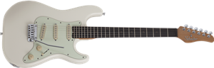 Schecter DIAMOND SERIES Nick Johnston Traditional Atomic Snow 6-String Electric Guitar 2020
