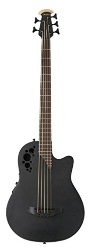 Ovation B7785TX-5  MOD TX MID Black 5-String Acoustic Electric Bass Guitar