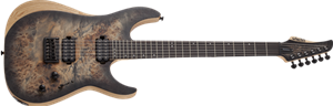 Schecter    DIAMOND SERIES  Reaper-6 Charcoal Burst   6-String Electric Guitar 2019