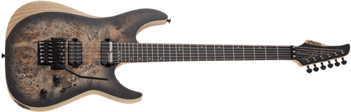Schecter DIAMOND SERIES Reaper-6 FR-S  Charcoal Burst 6-String Electric Guitar 2019