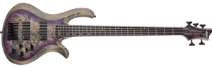 Schecter    DIAMOND SERIES Riot-5  Aurora Burst    5-String Electric Bass Guitar