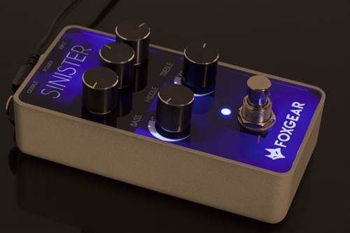 FOXGEAR SINISTER -Metal Distortion Pedal