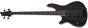 Schecter    DIAMOND SERIES SLS Evil Twin-4 Satin Black   Left Handed  4-String Electric Bass Guitar 2019