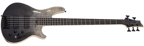 Schecter DIAMOND SERIES SLS Elite-5  Black Fade Burst 5-String Electric Bass Guitar 2019