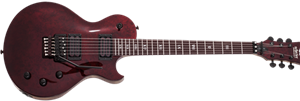 Schecter DIAMOND SERIES Solo-II FR Apocalypse Red Reign 6-String Electric Guitar 2019