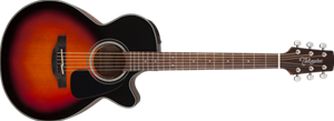 Takamine GF30CE     Brown Sunburst 6-String Acoustic Electric  Guitar