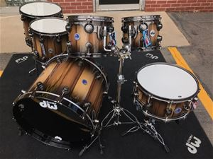 DW  USA Collector's Exotic Pure  Tasmanian Timber 6-piece Shell Pack