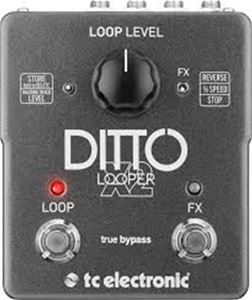 TC ELECTRONIC  Ditto X2 Looper Guitar Pedal
