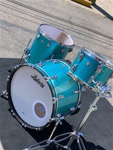 Ludwig USA Classic Teal Sparkle 3-Piece Shell Pack