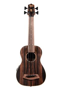 KALA Striped Ebony Fretless U-Bass