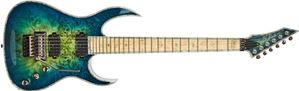 BC RICH  Shredzlla Z6 Prophecy Cyan Blue   6-String Electric Guitar 2020