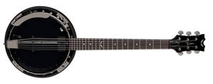 Dean Backwoods-6 BW6EBC  Black Chrome   6-String Banjo w/ Pickup
