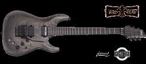 schecter diamond series c 1fr s apocalypse rusty grey 6 string electric guitar. Black Bedroom Furniture Sets. Home Design Ideas