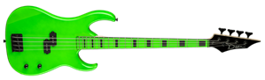 Dean Custom Zone Bass  Nuclear Green    4-String Electric Bass Guitar
