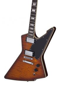 Schecter    DIAMOND SERIES  E-1 Custom Special Edition   Vintage Sunburst  6-String Electric Guitar