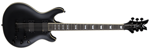 Dean Icon 27 Inch Baritone Black Satin 6-String Electric Guitar