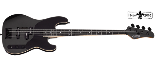 Schecter USA Custom Shop MICHAEL ANTHONY SIGNATURE Carbon Grey 4-String Electric Bass Guitar