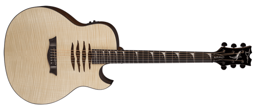 Dean Dave Mustaine Mako GN Flame Top 6-String Acoustic Electric Guitar