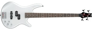 Ibanez GSR200 Pearl White 4-String Electric Bass Guitar 2020