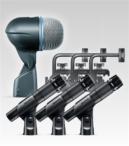 Shure DMK 57‑52  4-Piece Drum Microphone Kit