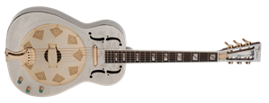 Dean  Thin body   Chrome/Gold 6-String Acoustic/Electric Resonator