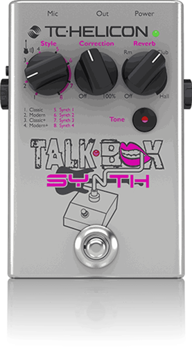 TC-Helicon Talkbox Synth Pedal TC-Helicon Talkbox Synth