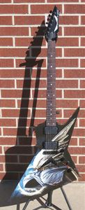 Dean Zero  Dave Mustaine Angel Of Deth II    6 String Electric Guitar