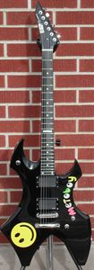ESP Custom Ordered Signature Series Metoboy Black 6-String Electric Guitar