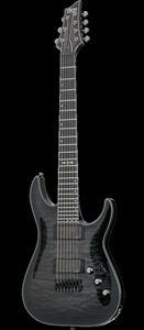 schecter diamond series hellraiser hybrid c 7 trans black burst 7 string electric guitar. Black Bedroom Furniture Sets. Home Design Ideas